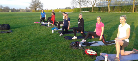 ladies fitness camps Guildford